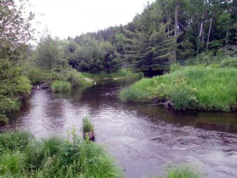 East Branch of the Au Sable.