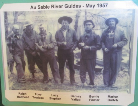 Skilled guides of the Au Sable.