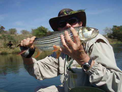 Jay Smit on the Pongola River