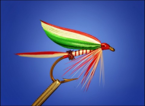 Curtis Fry - Merry Christmas wet fly