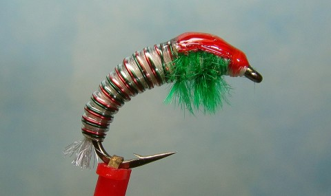 JCs Double Trouble Christmas Caddis
