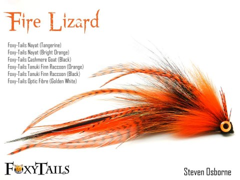 Fire Lizard - Tied by Steven Osborne