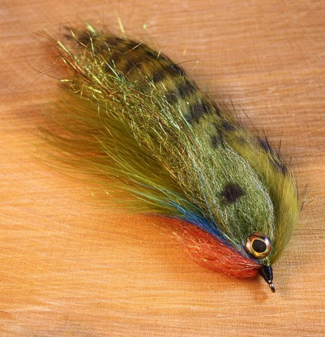 Bluegill Hedgehog - tied by Paul J. Beel